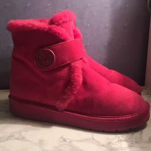 MK Fur Booties